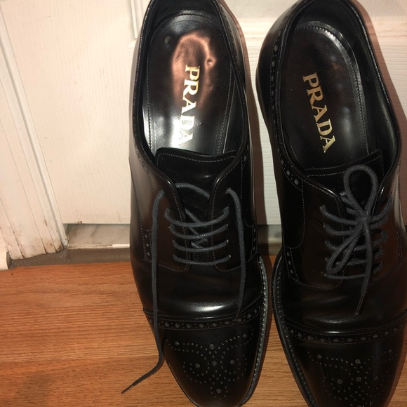 Prada Shoes - Used Prada men dressed shoes. Authentic Prada.